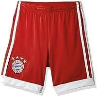 adidas Fcb H Sho y Pantalón Corto 1ª Equipación Fc Bayern de Múnich, Niños, Rojo (Rojfcb/Blanco), 152 (11/12 Años)