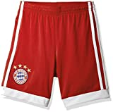 adidas Kinder FC Bayern Heim Shorts, FCB True Red/White, 164