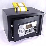Tresor Möbeltresor Safe mit Einwurfschlitz - ca. 21l - elektr. Zahlenschloß