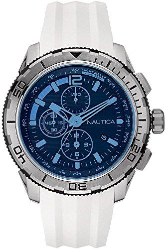 nautica-nai19521g-montre-homme-quartz-chronographe-cadran-bleu-bracelet-silicone-blanc
