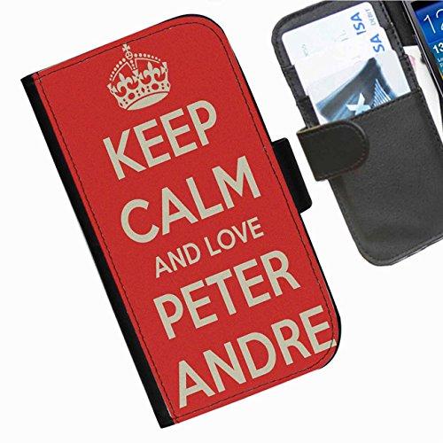 Hairyworm- Peter Andre Seiten Leder-Schützhülle für das Handy Sony Xperia SP (C5302, C5303, C5306)