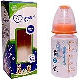 Tender Flo Disney Baby 150 ML 100% Bpa Free Orange Color Baby Milk Feeding Bottle. Pack Of 3