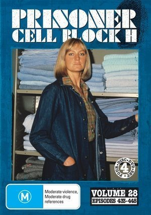 448 Dvd (Prisoner: Cell Block H - Vol. 28 (Ep. 433-448) - 4-DVD Set ( Caged Women ) ( Women Behind Bars ) by Alan Hopgood)