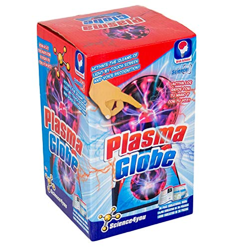 Science4You-Globo Plasma-Juguete científico Educativo