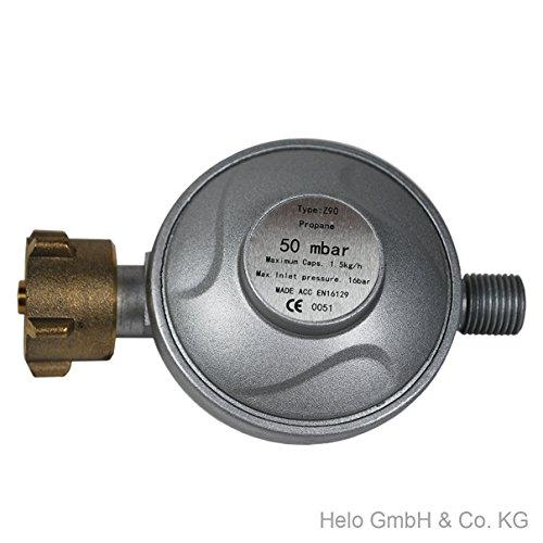 Druckregler 50mbar Gas Druckminderer Propan Gasregler Campingregler Gasgrill