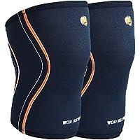 WOD Nation Knee Sleeves for Weightlifting (1 Pair) Premium Support & Compression - Powerlifting & CrossFit - 5mm... preisvergleich bei billige-tabletten.eu