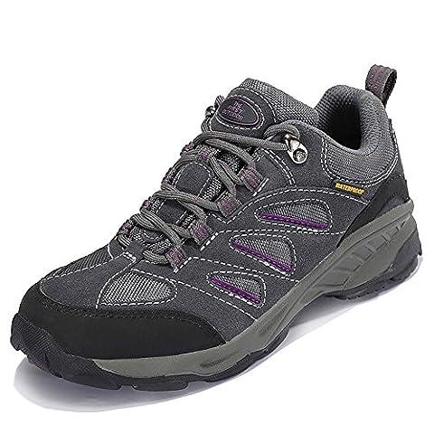 TFO Women's Outdoor Waterproof Hiking Shoes Trail Sneaker Climbing Mountain