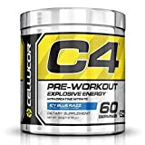 #9: Health Express Cellucor C4 Pre-Workout Gen-4-60 Servings (Icy Blue Razz)