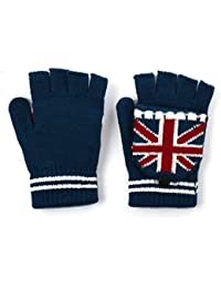 Unisex Union Jack/UK Design Combination Mitten Winter Gloves