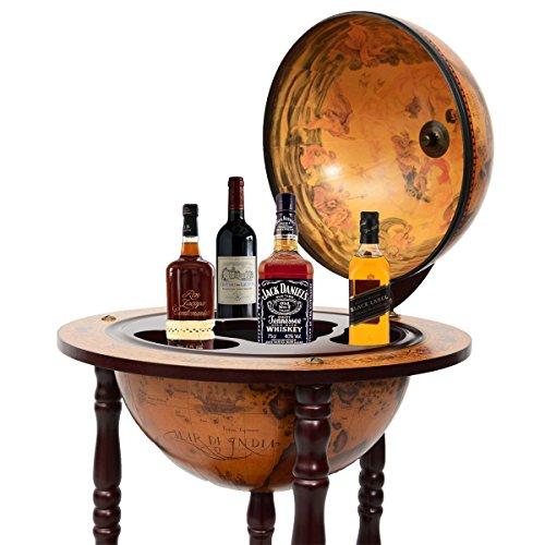 globusbar globus bar minibar hausbar weltkugel cocktailbar dekobar tischbar neu die hausbar. Black Bedroom Furniture Sets. Home Design Ideas