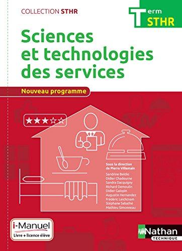 Sciences et technologies des services Tle par Sandrine Beldio