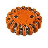 Powerflare LED Batterie Warnleuchte in orange Notfall Warnlicht für KFZ