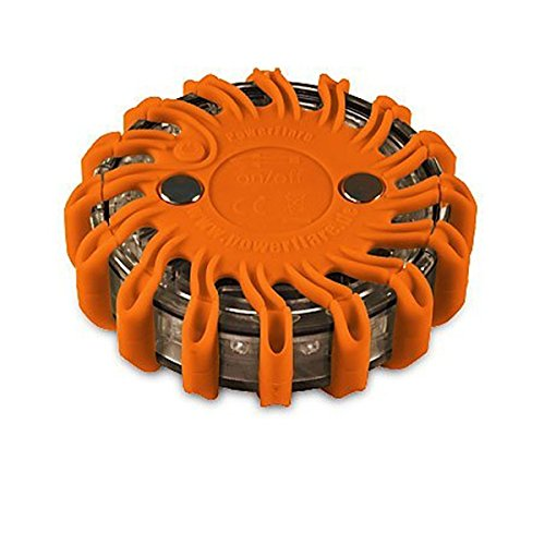 Powerflare LED Batterie Warnleuchte in orange
