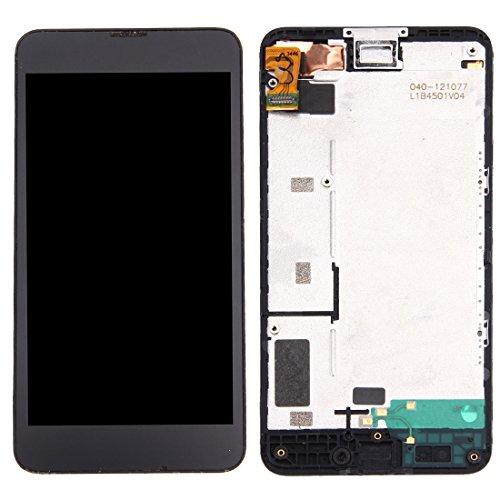 Ersatz-LCD-Bildschirm für Nokia LLP LCD Display + Touch Panel mit Rahmen für Nokia Lumia 630/635 (Schwarz) - Nokia-bildschirm-ersatz-635