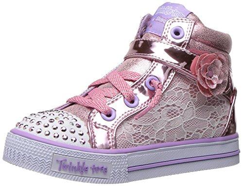 Skechers Shuffles Doily Dance Toile Baskets Pink/Lavender Doily