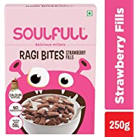 Soulfull Ragi Bites - Strawberry, 250g