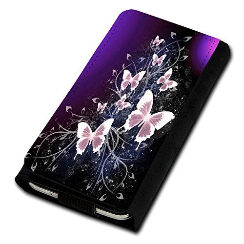 Book Style Flip Handy Tasche Case Schutz Hülle Foto Schale Motiv Etui für Mobistel Cynus F7 - Flip U3 Design11