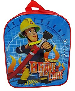 A great Fireman Sam themed backpack. Featuring Sam on the Front with a hose and the slogan 'Brave to the Core.' The bag is made from polyester which is not only durable but can be wiped clean. Not suitable for under 36 months. Approx Size: 31 x 25 x ...