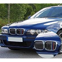 BizTech ® Parrillas de coche Inserciones Rayas decoración para BMW 5 Serie 1995-2003 M