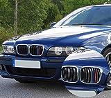 Für 1995-2003 B M W 5 Serie E39 520i 535i 525i 528i 530i 3D M Power M Sport Tech Motorhaube Kapuze Nieren Kühlergrill Grill Trim Schnalle Clip in stripe streifen Cover Decor