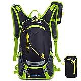 SHTH 18L Herren Damen Fahrrad Reise Wander Rucksack Backpacks Trekking Camping Rucksäcke Radfahren Schultertaschen , 26*45*22cm