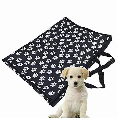 BABYS'q Hund Auto-Sitzbezüge, Wasserdichte Heavy-Duty-Travel-Hängematte Bank Cabrio Backseat, Perfekte Hundewagen-Reise Accessories130 * 150 * 55Cm (Heavy-duty-hund Hängematte)