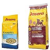 15 kg Josera Festival + 1,5 kg Josera Knuspies