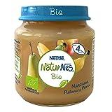 NESTLÉ NATURNES BIO puré Manzana, Plátano y Pera 6 x 120 g
