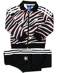 adidas Originals LK fbzebra, m69084, color blanco/negro/marrón, niña, color negro, tamaño 98