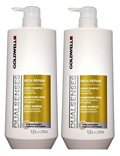 Goldwell Dualsenses Rich Repair Cream Shampoo set 2 X 1500 ML