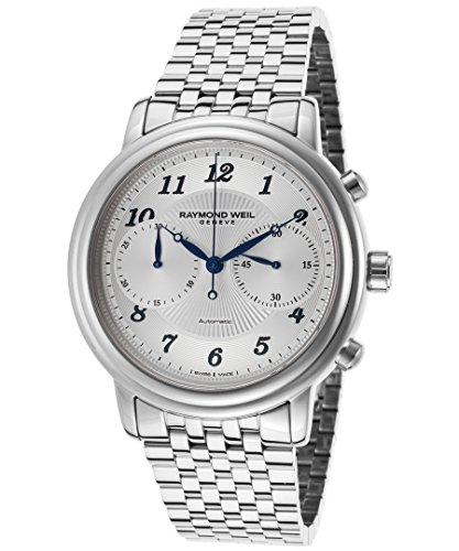 Raymond Weil Men's Maestro 41mm Chronograph Automatic Watch 4830-ST-05659