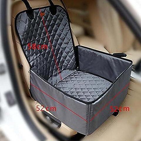 Homeself Sitzerhöhung / Auto-Vordersitzbezug für Haustiere, 2-in-1-Produkt, für Hunde,