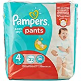 Pampers probier Pack Baby Dry Pants taille 4, 8 kg/14kg Pack de 4 (4 x 23 pièces)