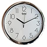 #6: Ajanta wall clock for office and home (White,Round)