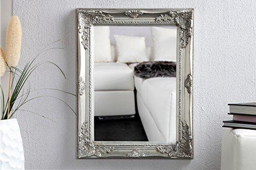 levandeo Spiegel Wandspiegel Flurspiegel Holz Holzrahmen 45x55cm Facettenschliff - Silber Gold Bronze Shabby chic Vintage Lanhaus Stil Barock antik