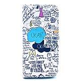 NewTH iPhone 6S Bookstyle PU Lederhülle Schutzhülle Case Etui Brieftasche Tasche Cover Schale mit Ständer Etui Karten Slot und Magnetverschluss Hüllen für Apple iPhone 6S / iPhone 6