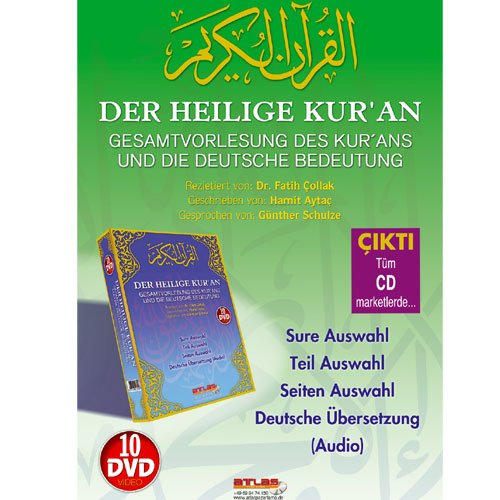 Der Heilige Koran 10 DVD