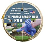 """Tuff-Guard The Perfect Garden Hose, Kink Proof Garden Hose Assembly, Beige, 5/8"""" Male"""