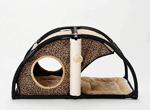 Pet Pet Pet Palace, Confortevole Cat Bed Cat Condo, Cat Activity Tower Cat, Cat House Cat Arrampicata Frame Cat Nido Cat Jumping Platform, Tiragraffi Deluxe e Corda (Pattern   B) B07FYR2ZY7 Parent | Abile Fabbricazione