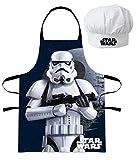 Star Wars Troopers Kinder Chefkoch-Set Kochschürze und Kochmütze, 2-teilig
