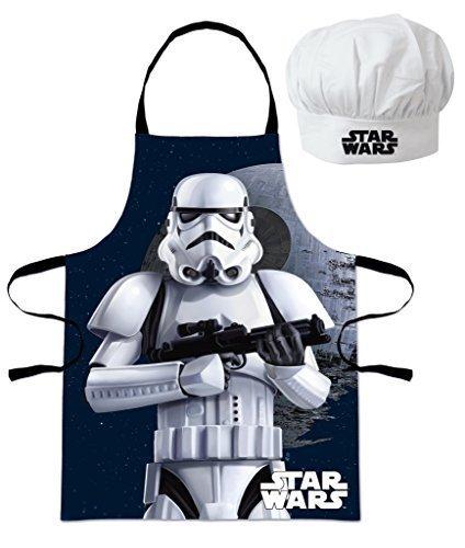 Star Wars Troopers (101291) Kinder Chefkoch-Set Kochschürze und Kochmütze, 2-teilig