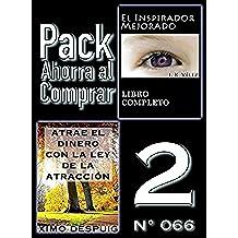 Pack Ahorra al Comprar 2 (Nº 066): Atrae el dinero con la ley de la atracción & El Inspirador Mejorado