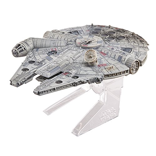 Hot Wheels Elite Star Wars Episode VI: Return of The Jedi Millennium Falcon Starship Druckguss Fahrzeug (Dekorationen Wheels Hot)