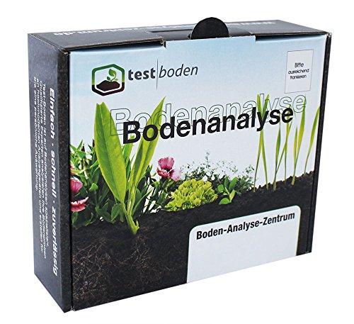 Bodenanalyse auf Nährstoffe für den Garten – Bodentester auf die wichtigsten Bodennährstoffe, Mineralstoffe, Spurenelemente, inkl. pH Bodentest – Bodenanalyse Set mit eigener Probenahme und professionellem Bodentest im Labor