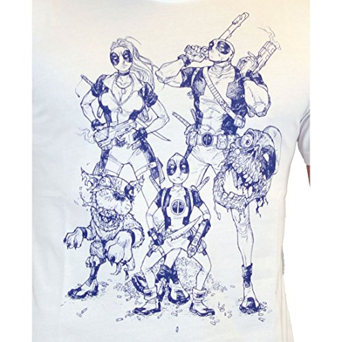 cotton division Herren T-Shirt Blanc Homme