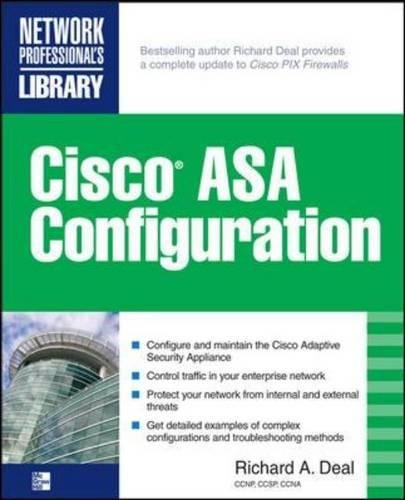 Cisco ASA Configuration (Network Professional's Library)