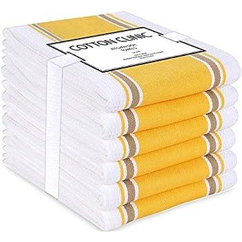 Soleil docre Lot de 2 torchons 50x70 cm PASTEQUE Coton Multicolore 50 x 70 cm