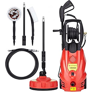 2400 PSI 165 Bar 2200W Electric Pressure Washer High Power Patio Jet Cleaner Car