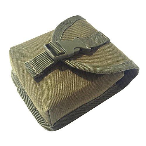 Fenteer Tauchen Gürtel Bleitaschen - Armeegrün