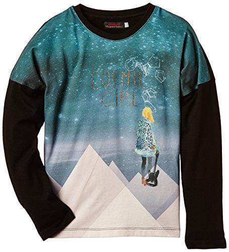 Catimini - SPIRIT CITY, T-shirt per bambine e ragazze, nero (noir), 5 anni (110 cm)